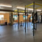 CrossFit Plzeň hrazdy - pohled na platformy