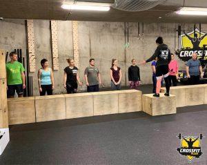Základní kurz On Ramp - seznámení nováčků s pohyby v CrossFitu