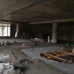 CrossFit Plzeň - betonování podlah