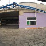 CrossFit Plzeň - betonování - míchačka s ramenem