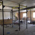 CrossFit Plzeň - instalace vnitřních hrazd - komplet