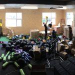 CrossFit Plzeň - první vybavení vybalování