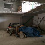 CrossFit Plzeň - úklid před betonováním podlah