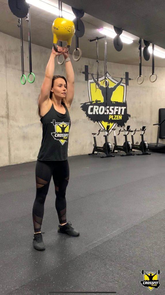 Atletka Lucka American KTB swing - CrossFit