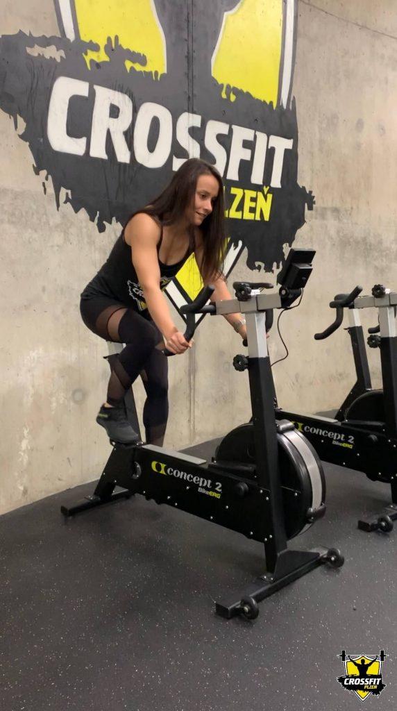 Atletka Lucka Concept2 BikeErg - CrossFit Plzen