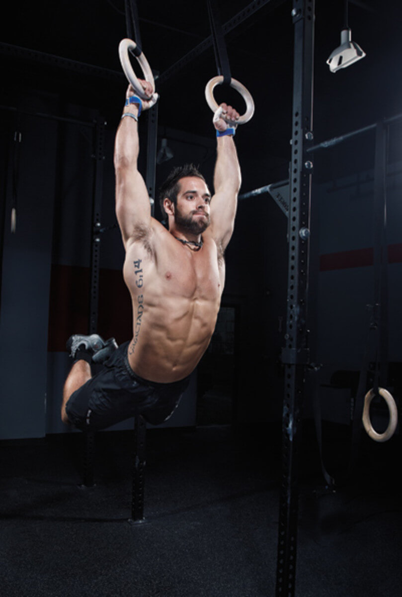 Rich Froning Ring Muscle Up